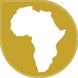 Logo of outline of Africa