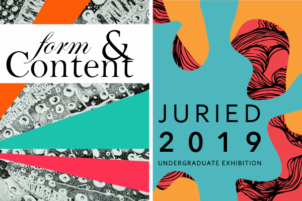 Juried 2019, Form & Content 2019
