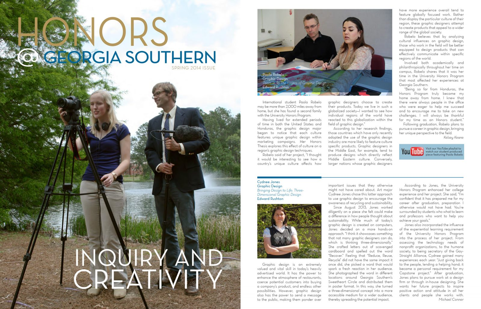 Spring 2014 Honors @ Georgia Southern