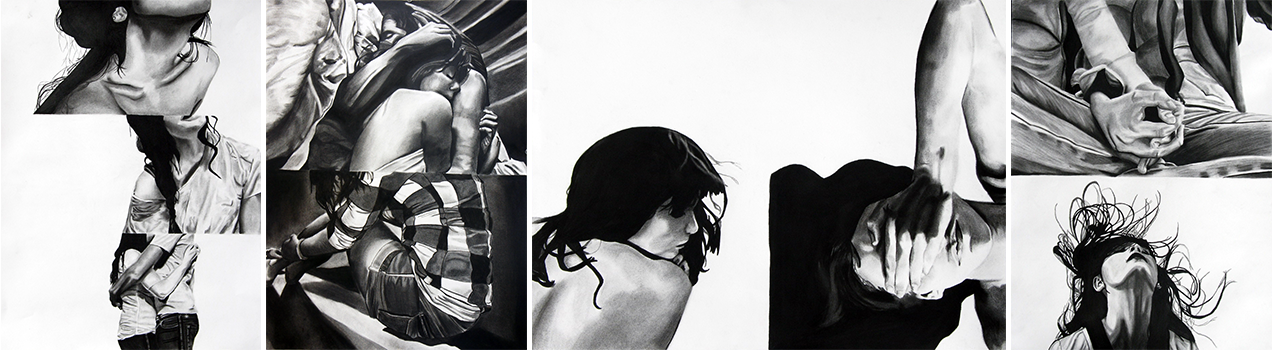 Toni Todd, Charcoal Drawings, BFSDoArt
