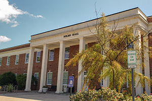 front view of solms hall
