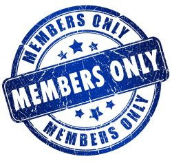 Members Only Badge