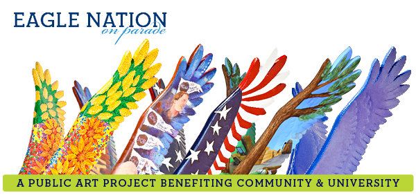 Eagle Nation on parade a project benefiting the community and university