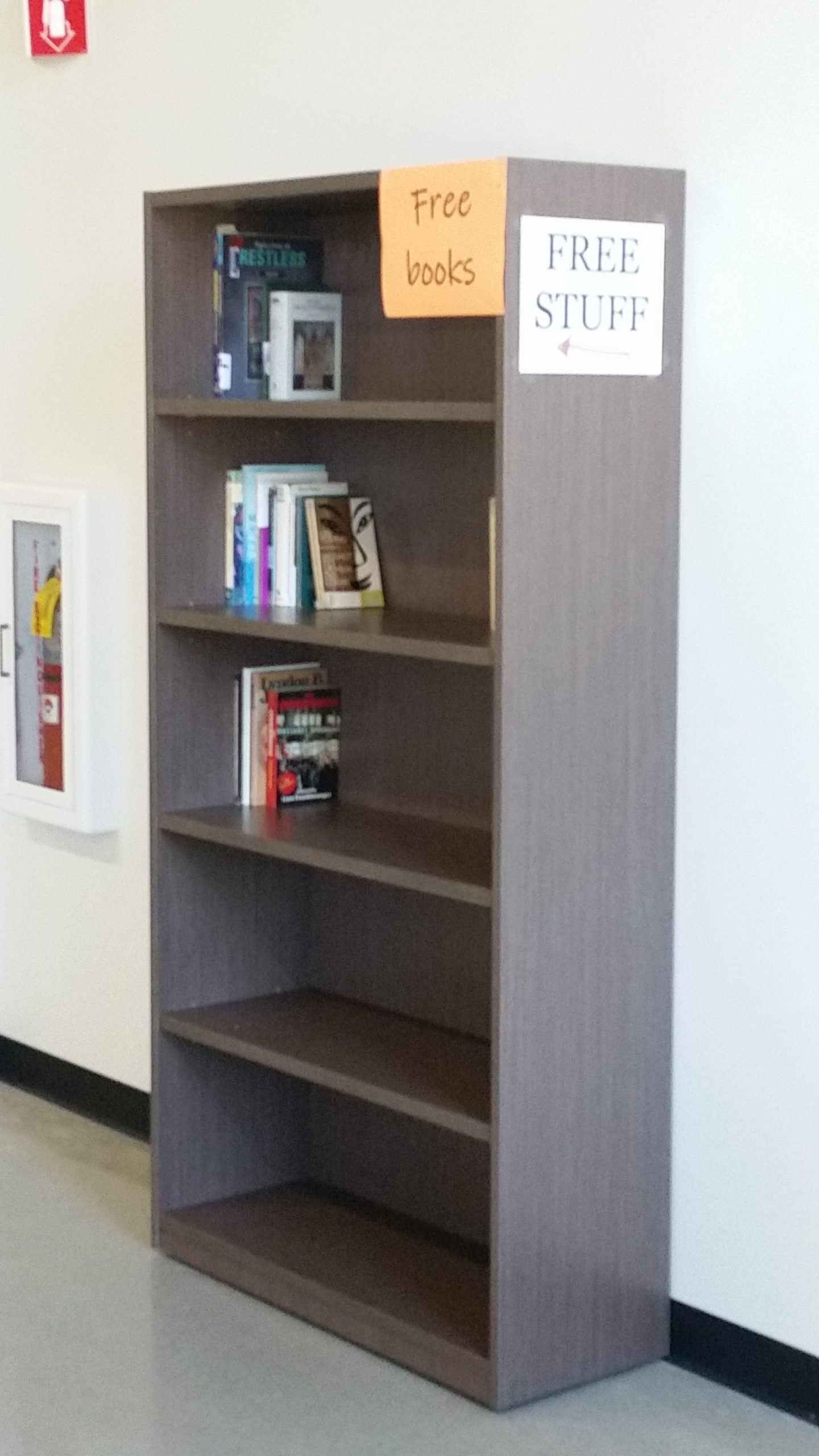 Free books bookshelf