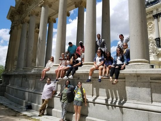 Students in Seville