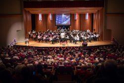 Patriotic concert