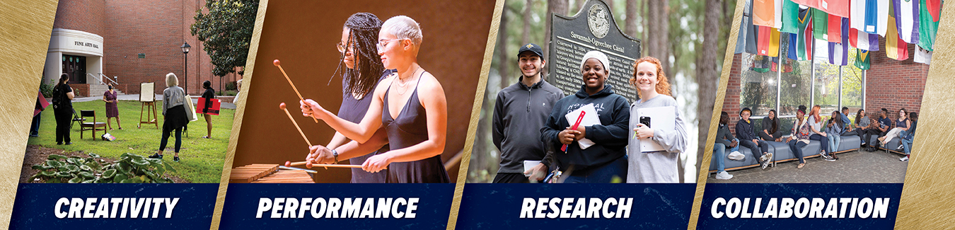 Creativity. Performance. Research. Collaboration.