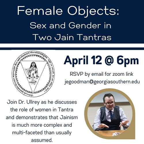 Female Objects lecture April 12
