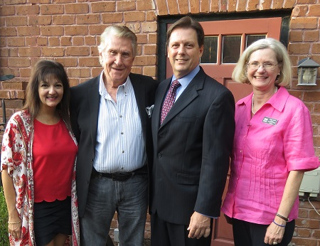 Christopher Hendricks with Maria Zouves, Sherrill Milnes and Jamie Credle