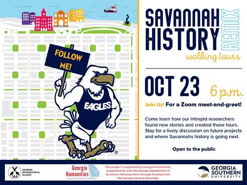 Savannah Histor Walking Tours