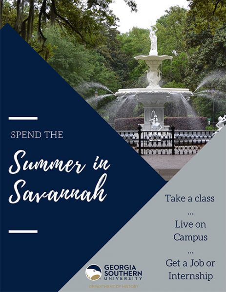 Spend the summer in Savannah